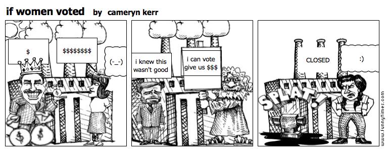 if women voted by cameryn kerr