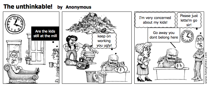 The unthinkable by Anonymous