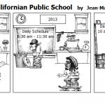 Kindergarten in a Californian Public Sch