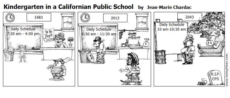 Kindergarten in a Californian Public Sch by Jean-Marie Chardac