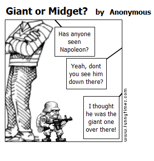 Giant or Midget by Anonymous