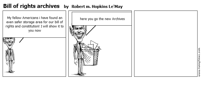 Bill of rights archives by Robert m. Hopkins Le'May