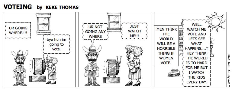 VOTEING by KEKE THOMAS