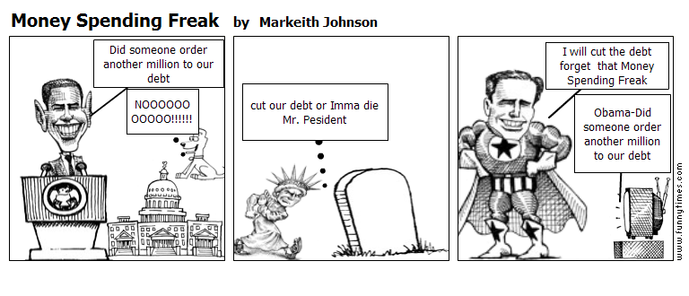 Money Spending Freak by Markeith Johnson