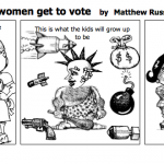 What will happen if women get to vote