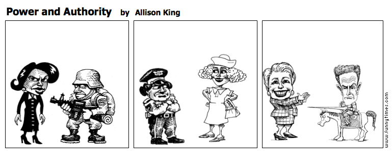 Power and Authority by Allison King
