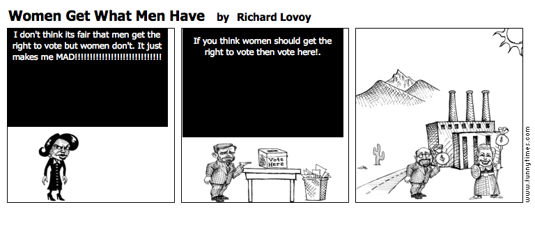 Women Get What Men Have by Richard Lovoy