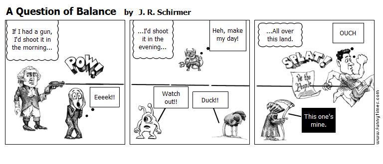 A Question of Balance by J. R. Schirmer