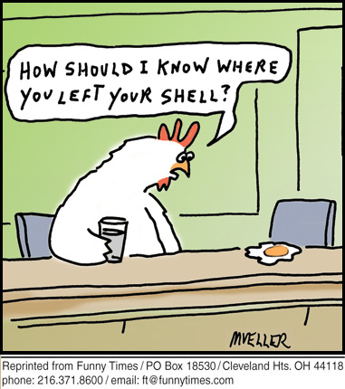 Funny mueller man evolution  cartoon, January 30, 2013