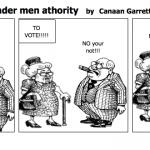 Women should be under men athority