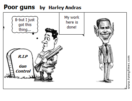 Poor guns by Harley Andras