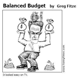 Balanced Budget by Greg Fitze