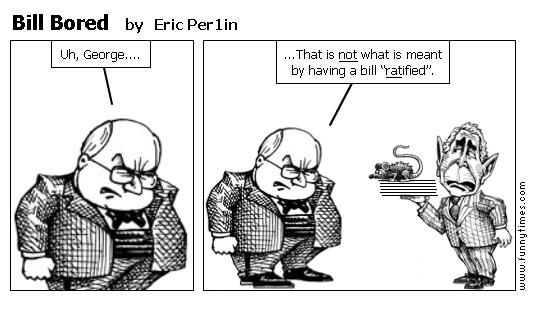Bill Bored by Eric Per1in