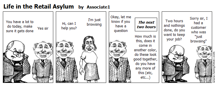 Life in the Retail Asylum by Associate1