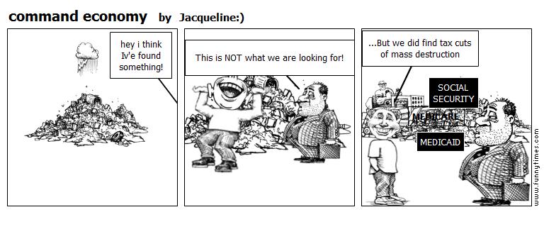 command economy by Jacqueline