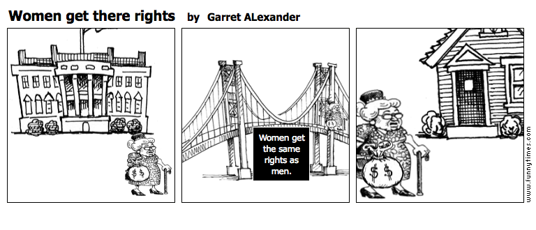 Women get there rights by Garret ALexander