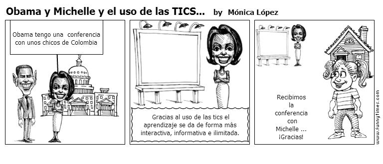 Obama y Michelle y el uso de las TICS... by Mnica Lpez