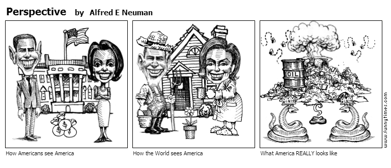 Perspective by Alfred E Neuman