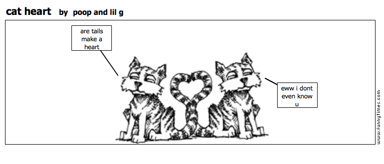 cat heart by poop and lil g