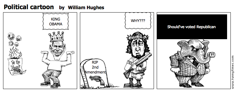 Political cartoon by William Hughes