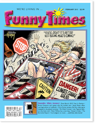 Funny Times February 2013 issue cover