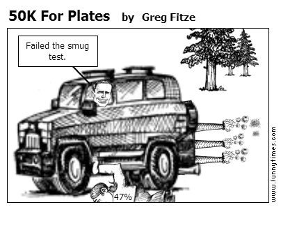 50K For Plates by Greg Fitze