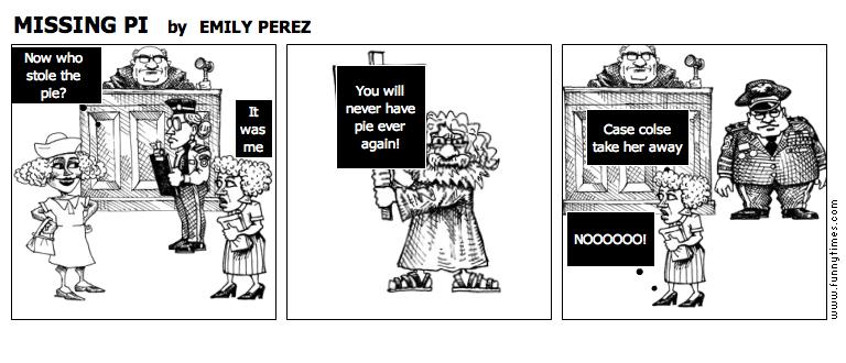MISSING PI by EMILY PEREZ