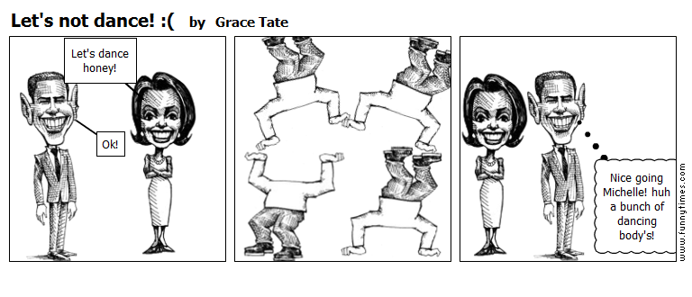 Let's not dance  by Grace Tate