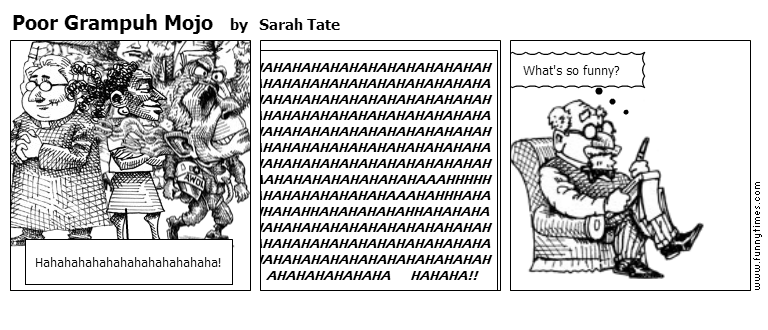 Poor Grampuh Mojo by Sarah Tate