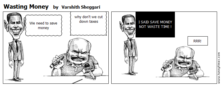 Wasting Money by Varshith Sheggari