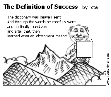 The Definition of Success by cta