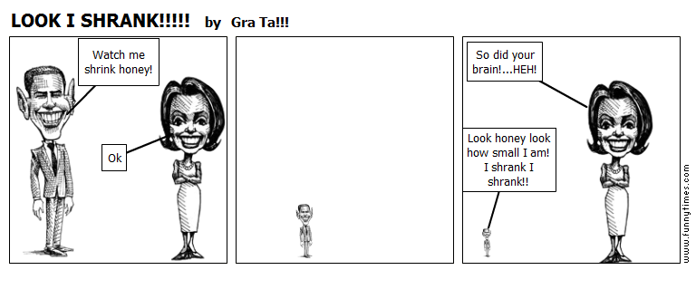 LOOK I SHRANK by Gra Ta