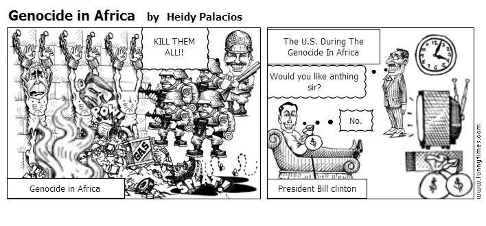 Genocide in Africa by Heidy Palacios