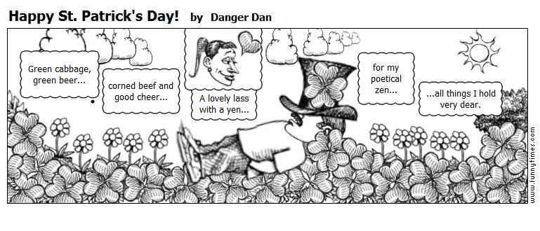 Happy St. Patrick's Day by Danger Dan
