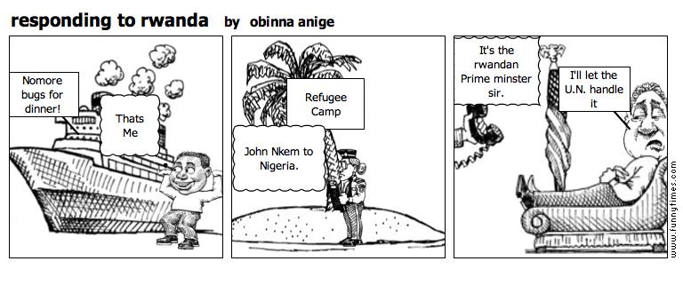 responding to rwanda by obinna anige
