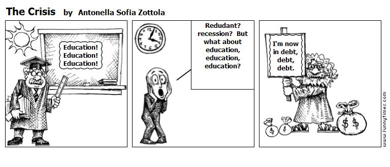 The Crisis by Antonella Sofia Zottola