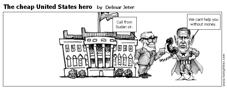 The cheap United States hero by Delmar Jeter
