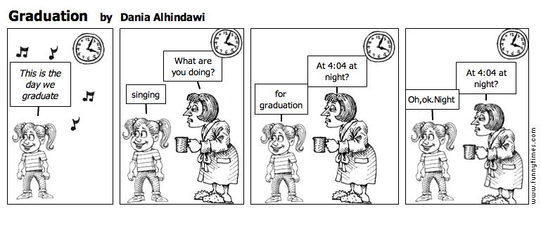Graduation by Dania Alhindawi