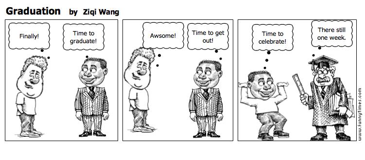 Graduation by Ziqi Wang