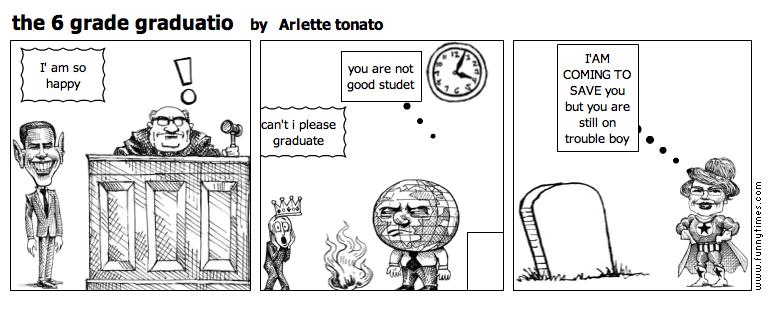 the 6 grade graduatio by Arlette tonato