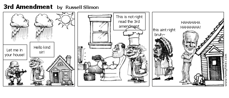 3rd Amendment by Russell Slimon