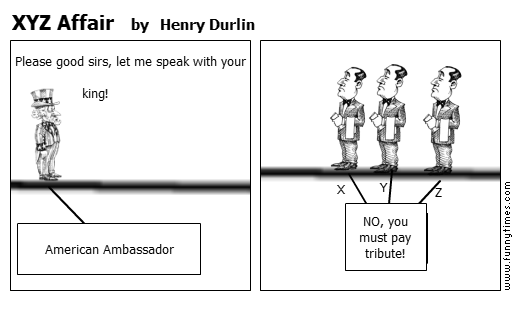 XYZ Affair by Henry Durlin