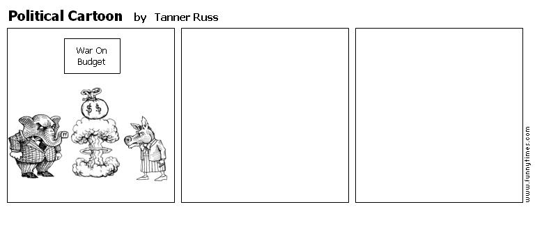 Political Cartoon by Tanner Russ