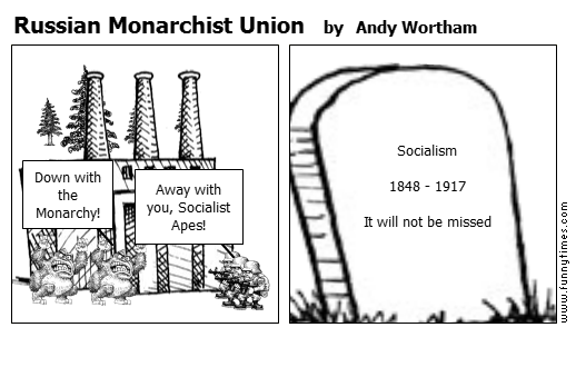 Russian Monarchist Union by Andy Wortham