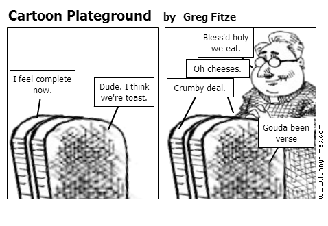 Cartoon Plateground by Greg Fitze