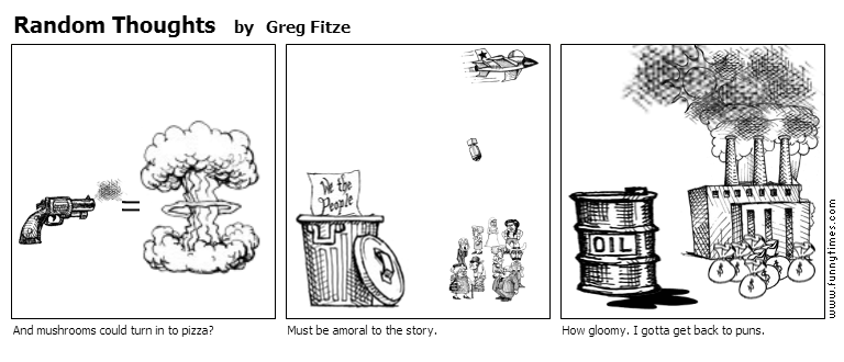 Random Thoughts by Greg Fitze