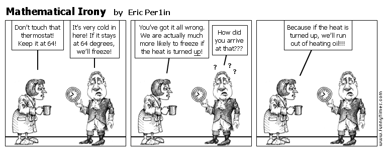 Mathematical Irony by Eric Per1in