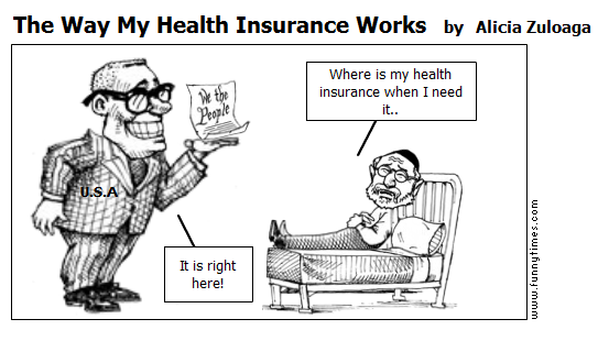 The Way My Health Insurance Works by Alicia Zuloaga