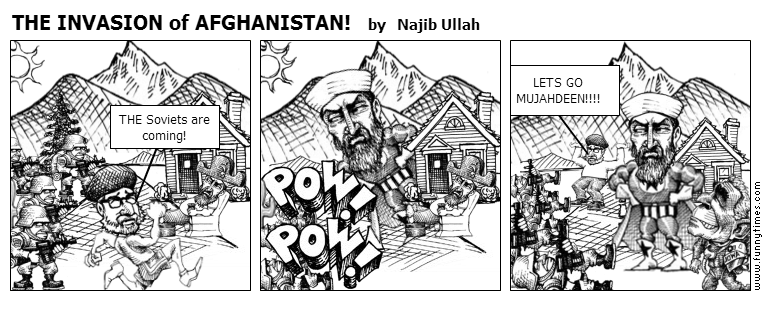 THE INVASION of AFGHANISTAN by Najib Ullah