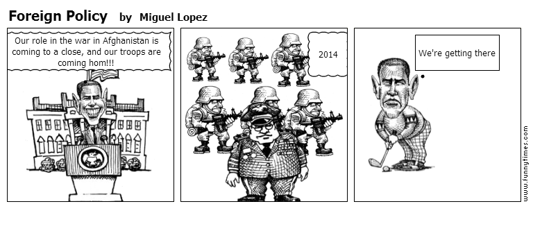 Foreign Policy by Miguel Lopez